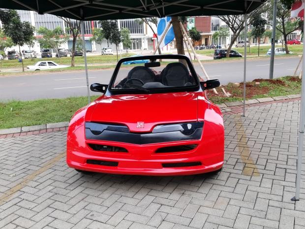 Mobil Buatan Universitas Pembangunan Jaya Bintaro