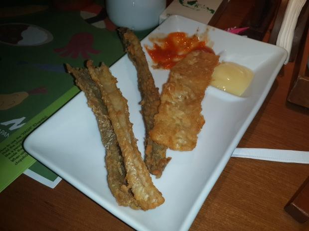 Salmon skin midori bintaro