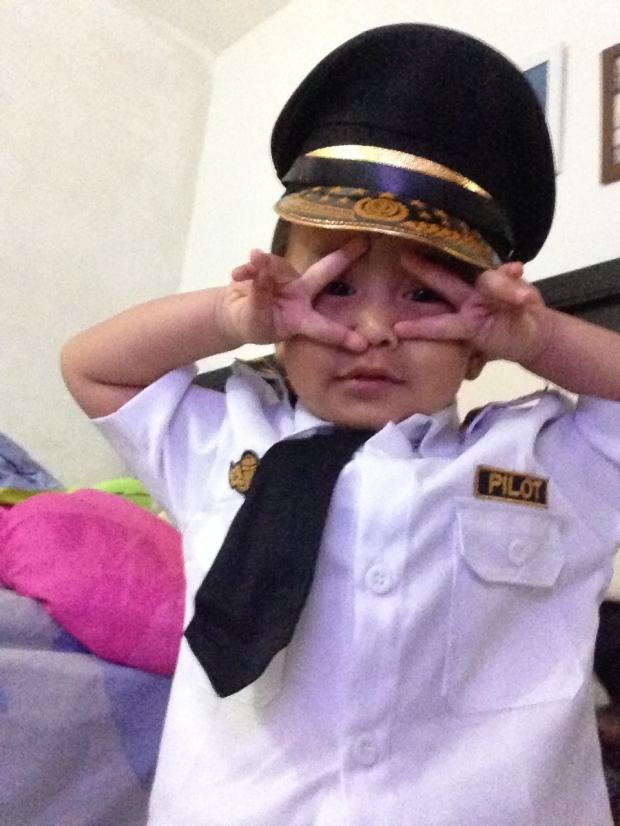 baju pilot anak tk