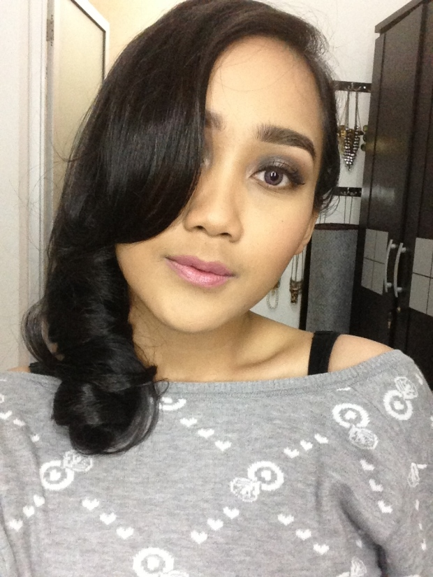 make up natural untuk prom night