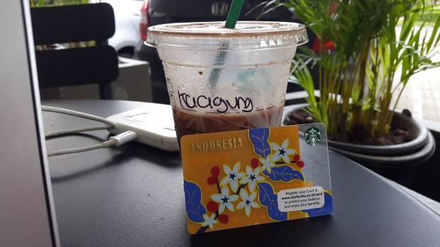 Starbucks bintaro sektor 9 card