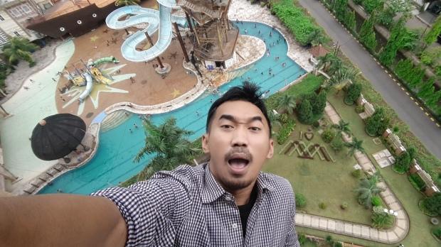 extreme selfie agege saputra